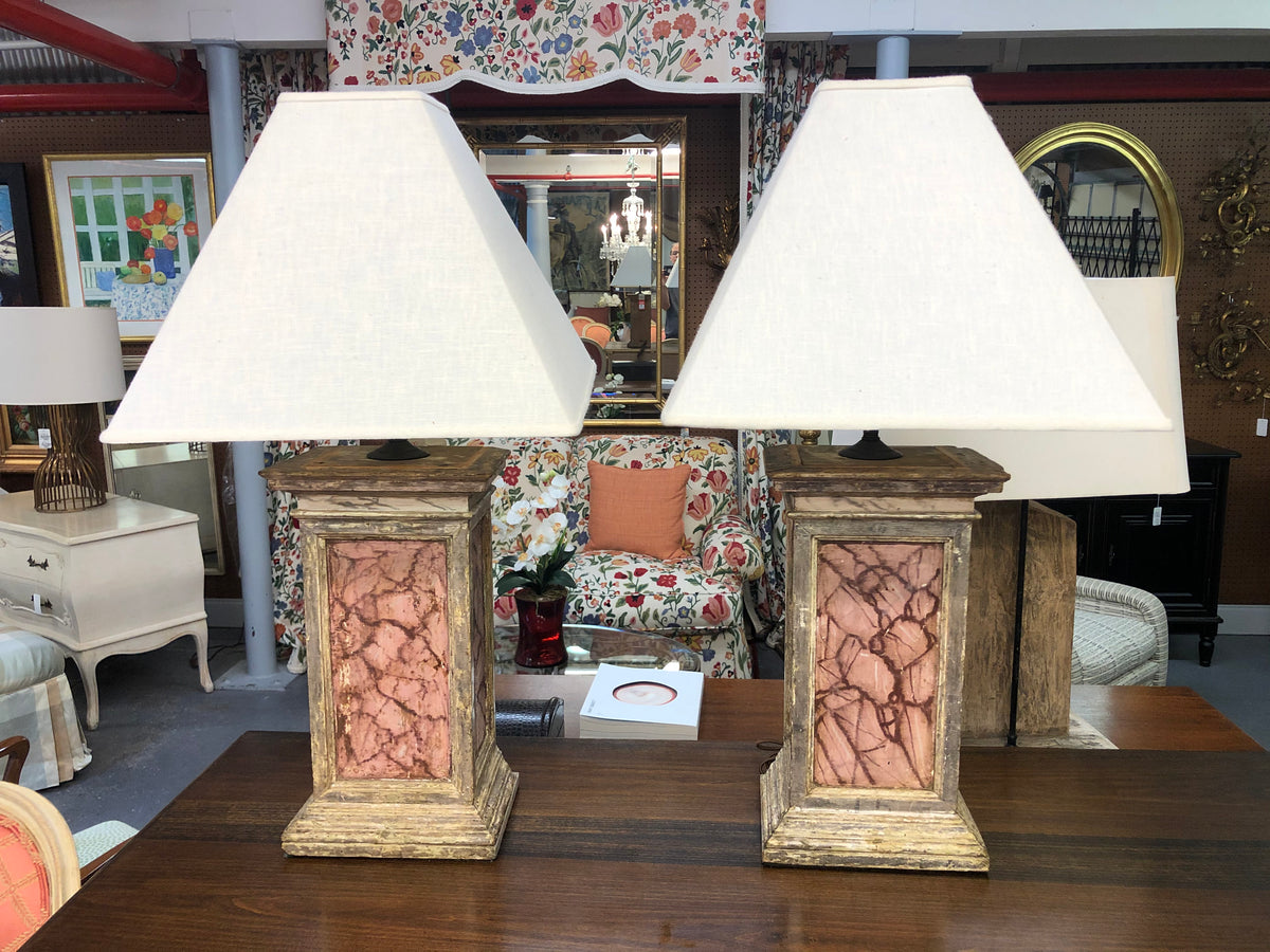 Early Italian Painted Lamps
