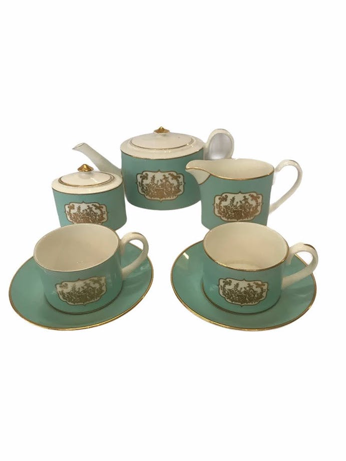 English Fine Bone China Tea Set by Fortnum & Mason