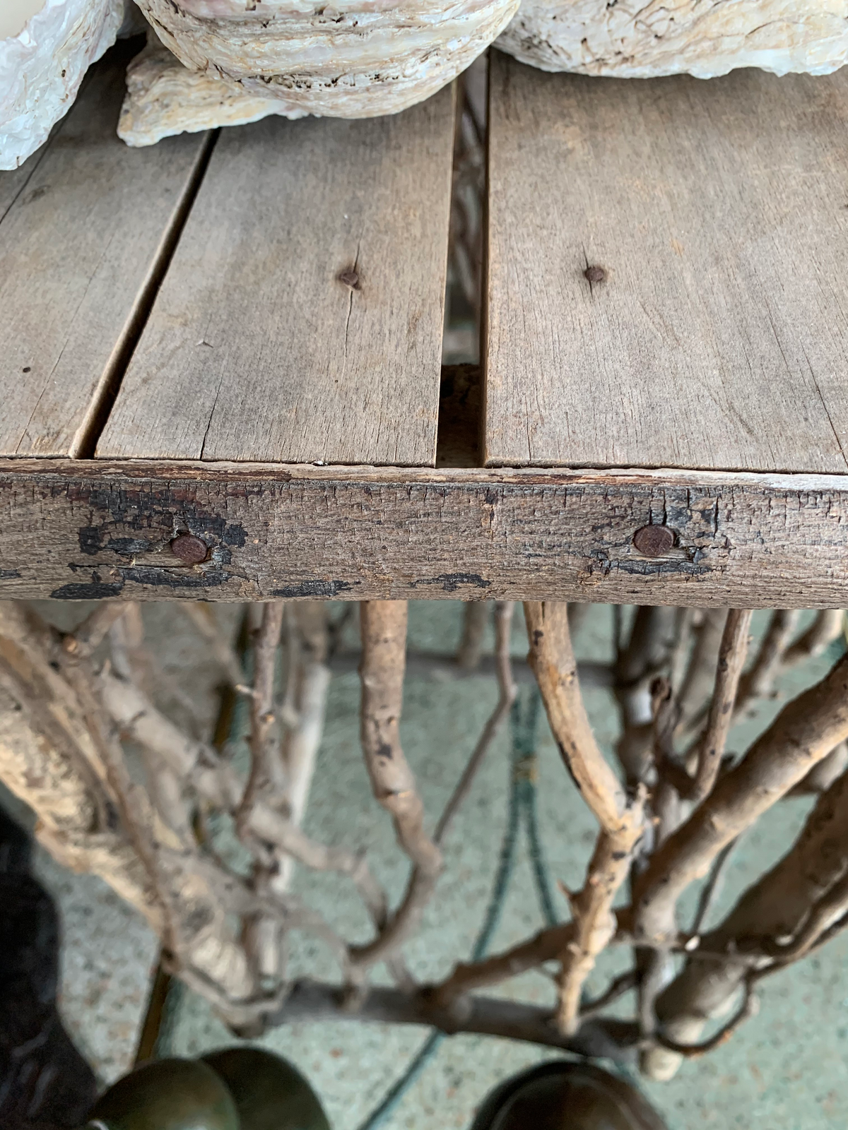 A Pair of Antique Twig Side Tables Very Twiggy