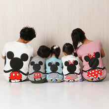 Cartoon Mouse Pattern Pullover Family T-Shirt