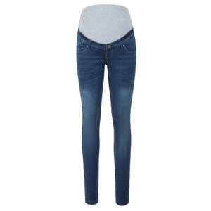 Maternity Abdomen Supportive Fashion Jeans