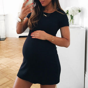 Maternity Short Sleeve Dress