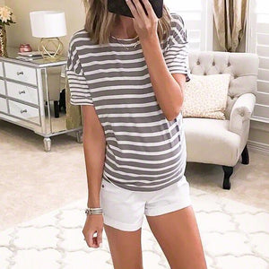 Maternity Stripes T-Shirts
