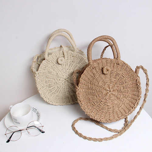 🔥2018 Must Have Round Beach Shoulder Bag