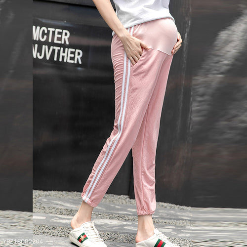 Spring & Summer Maternity  Loose Ninth Pants