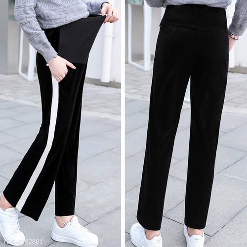 Maternity Black Wide Leg Pants