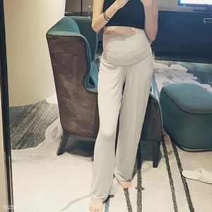 2018 Autumn Maternity Loose Wide Leg Pants