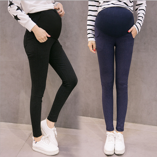 Fashion Pregnant Women Bottoming Autumn Pants