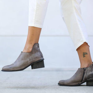 Fashion Office Lady Leisure Martin Boots