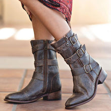 Casual Winter/Autumn Daily Low Heel Boots