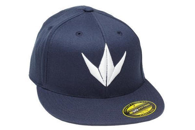 zzz - Bunker Kings Flex Fit 3D Cap - Navy/White