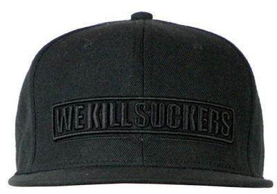 zzz - Bunker Kings Snapback Cap -We Kill Suckers