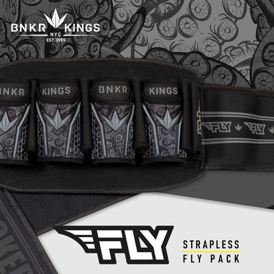 Bunkerkings Fly Pack - 4+7 Black Tentacles