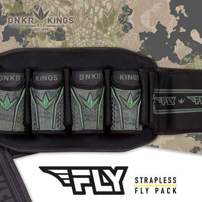 Bunkerkings Fly Pack - 4+7 Highlander Camo
