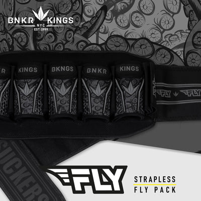 Bunkerkings Fly Pack - 5+8 Black Tentacles