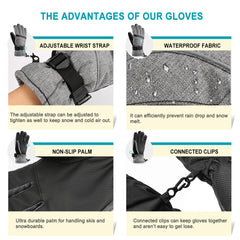 Men's Ski Gloves