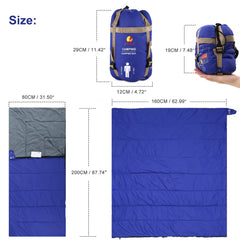 Over 10℃&50°F Sleeping Bag