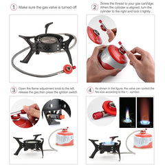 Camping High-Stable Gas Stove