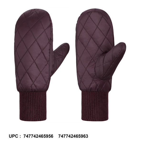 Andake Women's Duck Down Mittens Gloves