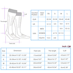 Merino Wool Ski Socks