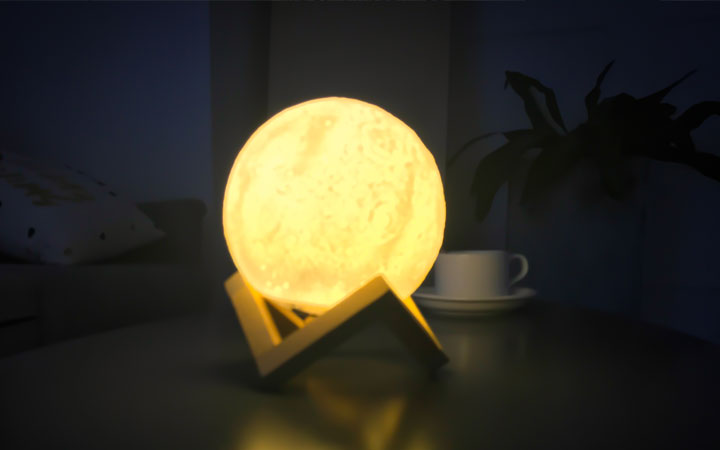loftek led 3d moon mood lamp for restaurant bar table decorating