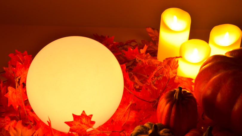 LOFTEK 8-inch ball light for Halloween giveaway