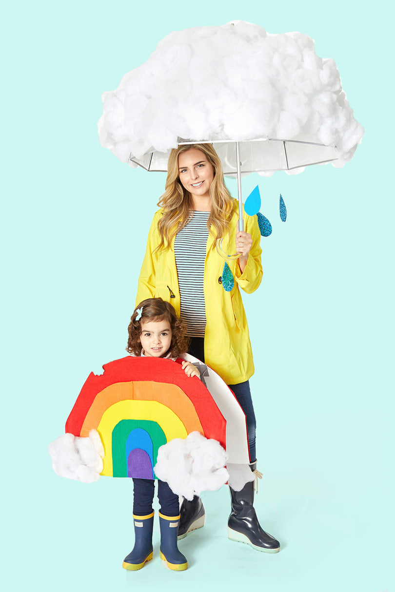 LOFTEK Halloween costume ideas Cloud and Rainbow Costume