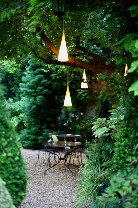 cute lighting for decorating the garden or backyard
