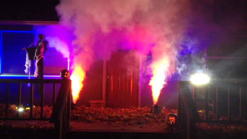 Halloween-decor-fog-machine