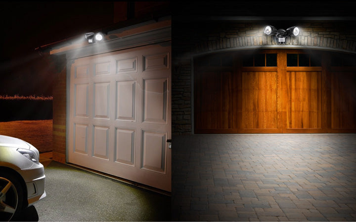 Perfect lighting solution for garages, workshops