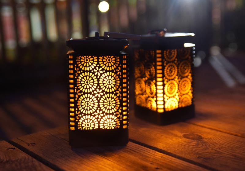 loftek solar lantern for outdoor
