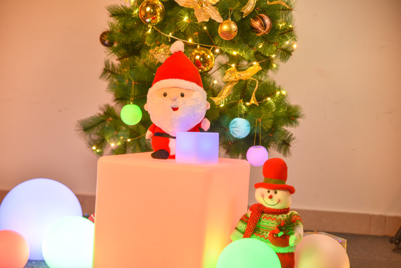 LOFTEK RGB LED shape lights for Christmas decoration