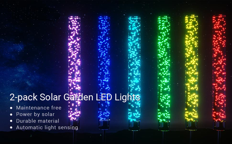 LOFTEK RGB LED Stake Lights