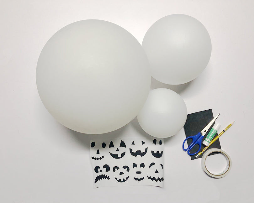 LOFTEK ball light halloween DIY 1