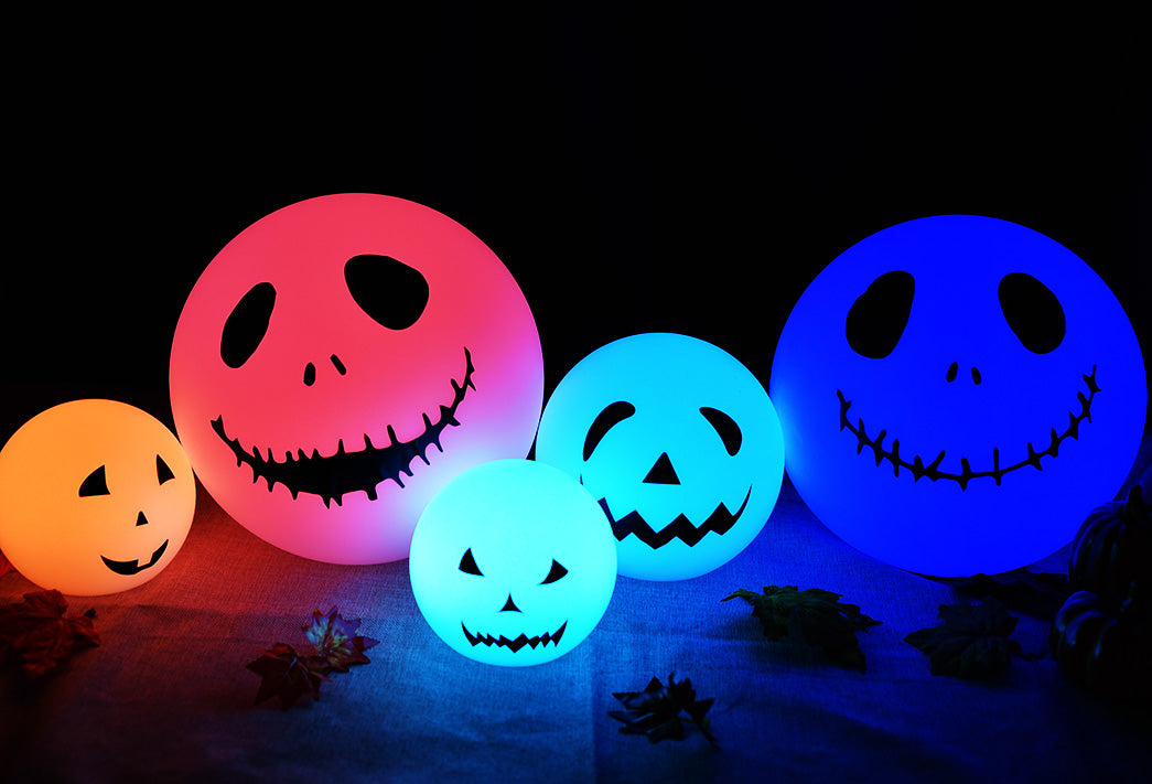 LOFTEK ball light DIY for Halloween decor