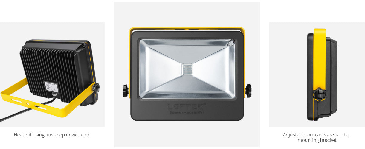 loftek nova plus led flood light details