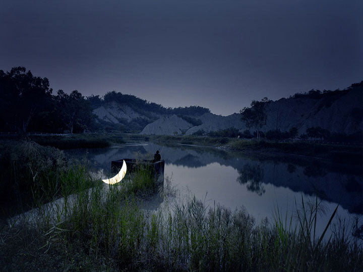 Leonid Tishkov With His Private Moon Photography