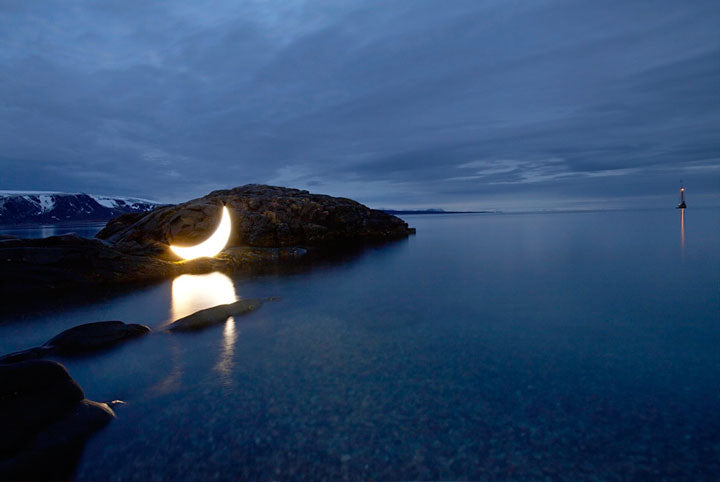 Journey of Private Moon in the Arctic, 2010. Photo by Leonid Tishkov