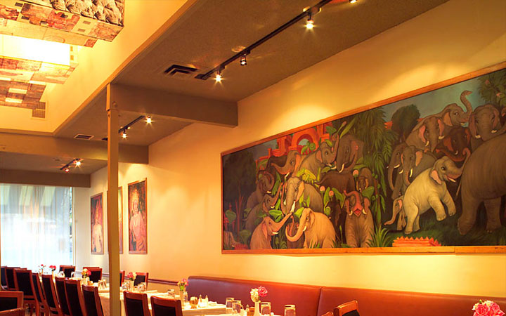 artwork for restaurant