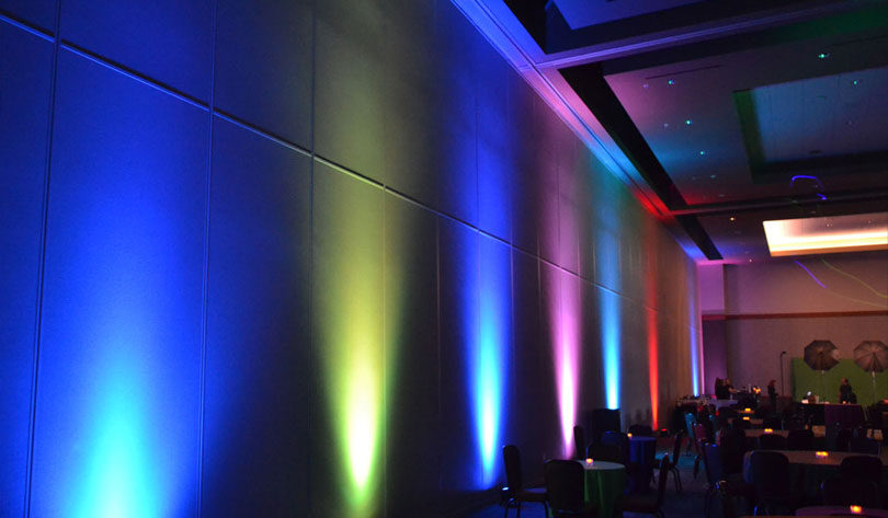 color and light for event design