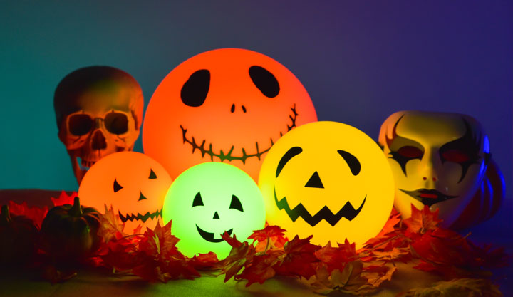loftek led ball lights for halloween pumpkin diy