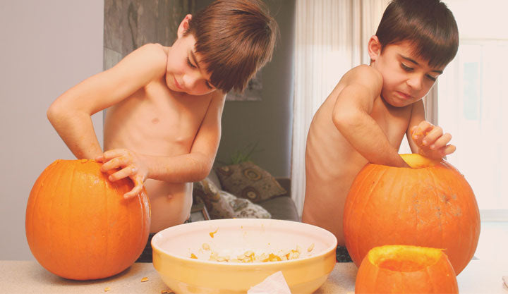halloween decoration ideas pumkin kids