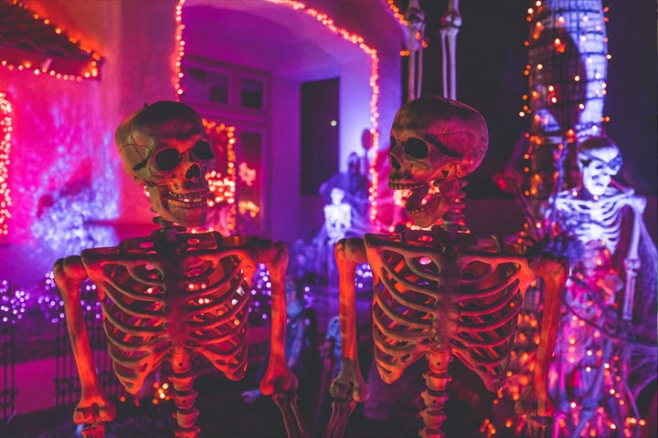 loftek led lightings for halloween decor