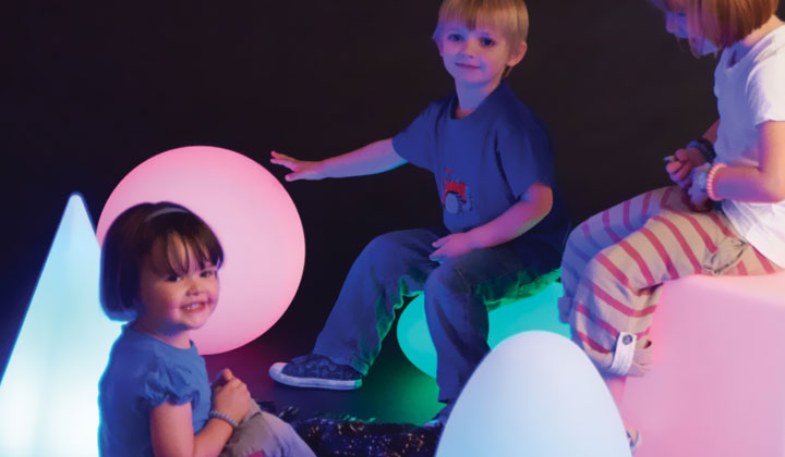 sensory light up toy