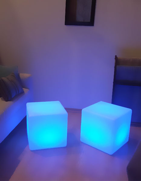 loftek led glow cube light