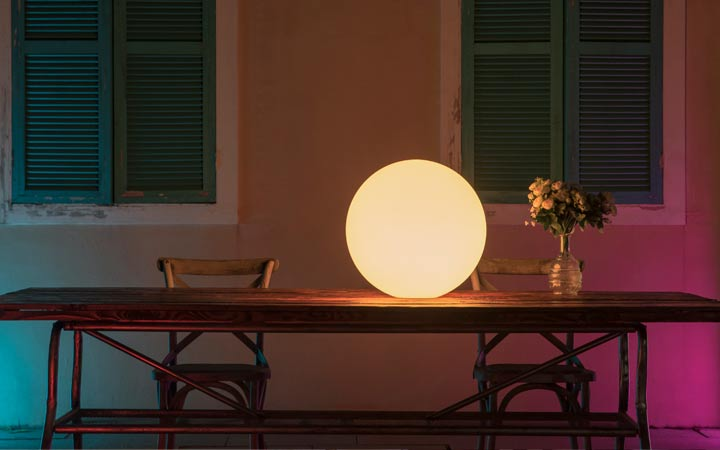 loftek led glow mood lamp for talbe decor dining