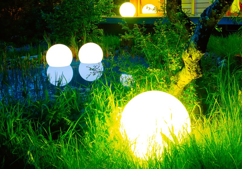 loftek led ball for garden