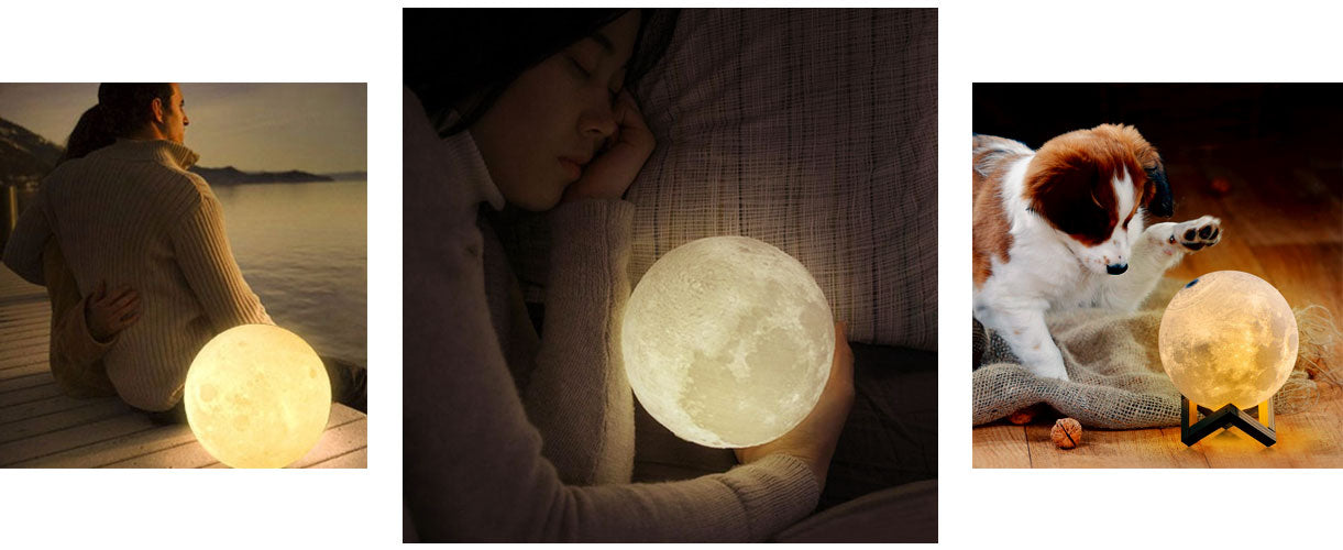 loftek 3d moon light