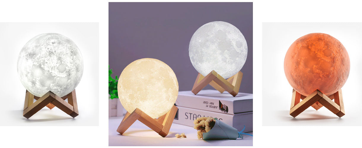 loftek 3d printing moon lamp