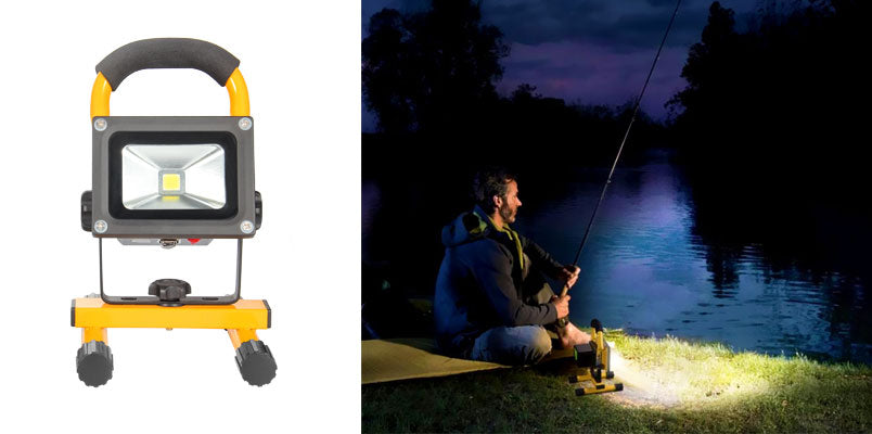loftek axis 10w led work light for spring outdoor fishing